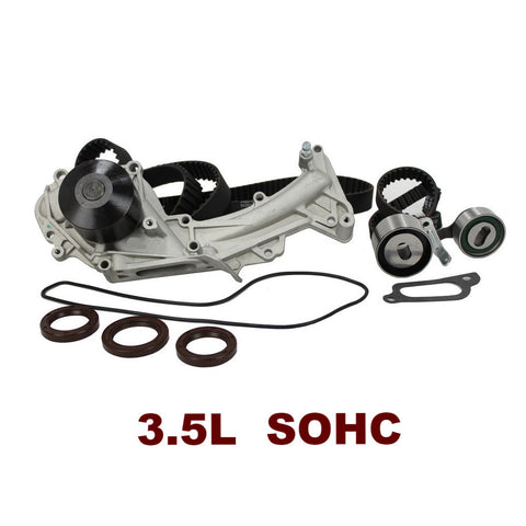 TIMING BELT KIT W/WATER PUMP 3.5L SOHC (TBK283WP)