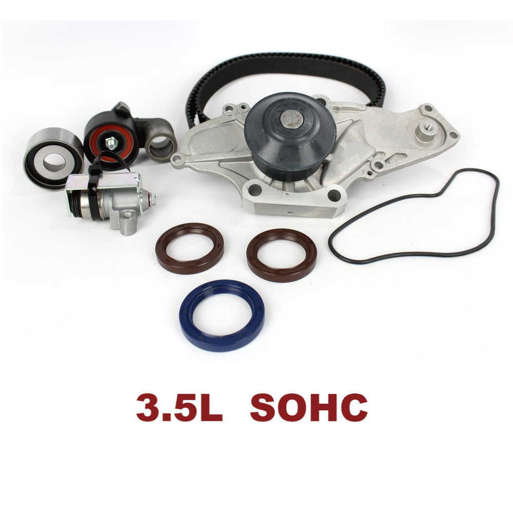 TIMING BELT KIT W/WATER PUMP 3.5L SOHC (TBK284CWP)