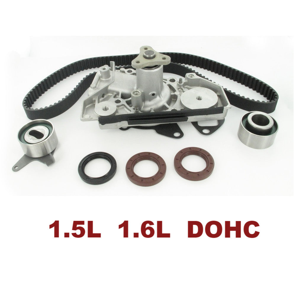 TIMING BELT KIT W/WATER PUMP 1.5L 1.6L (TBK407WP)