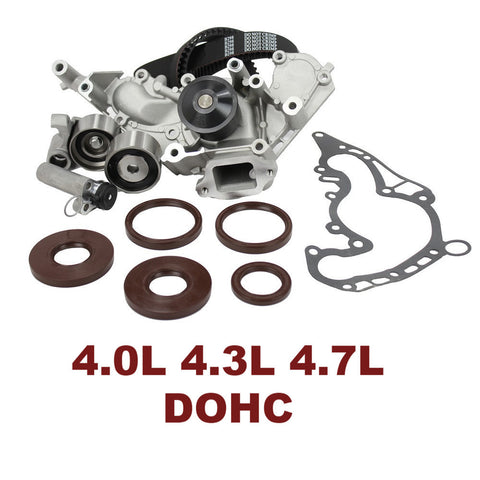 TIMING BELT KIT W/WATER PUMP 4.0L 4.3L 4.7L TBK971WP