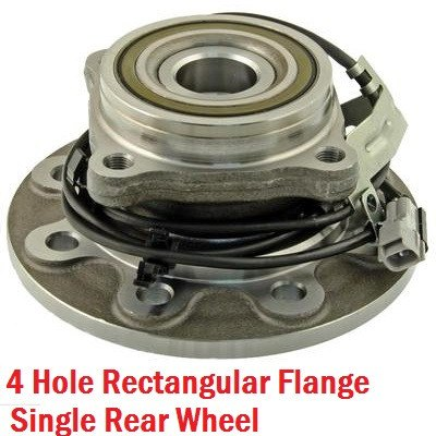 Hub Bearing - Front Hub Bearing Left With-ABS 4WD (515034)
