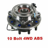 Hub Bearing - Front Hub Bearing With-ABS 4WD 10 Stud; Cab & Chassis  (515133)