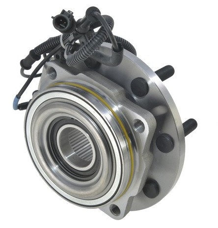 Hub Bearing - Front Hub Bearing With-ABS 4WD 8 Stud; Dual Rear Wheel;Extended Axle (515116)