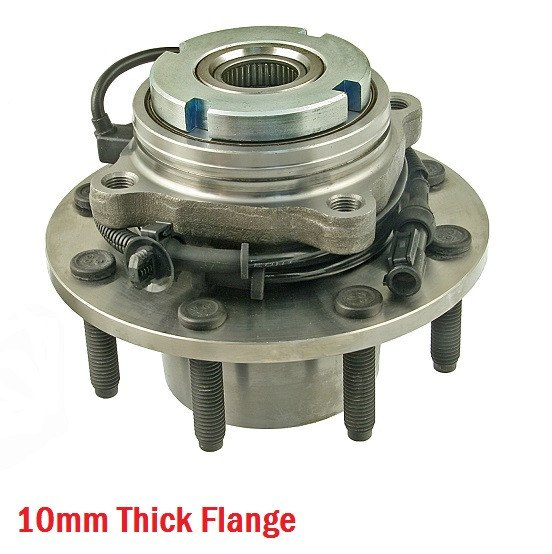 Hub Bearing - Front Hub Bearing With-ABS 4WD Single Rear Wheel;To 03/10/99 (515075)