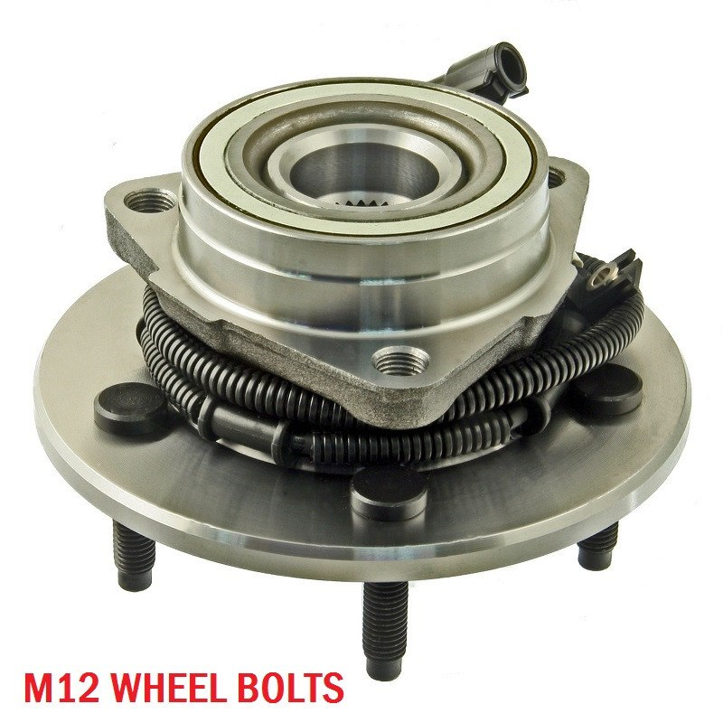 Hub Bearing - Front Hub Bearing With-ABS 5 Stud 4WD (515010)