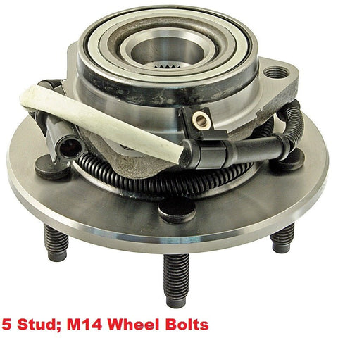 Hub Bearing - Front Hub Bearing With-ABS 5 Stud 4WD (515029)