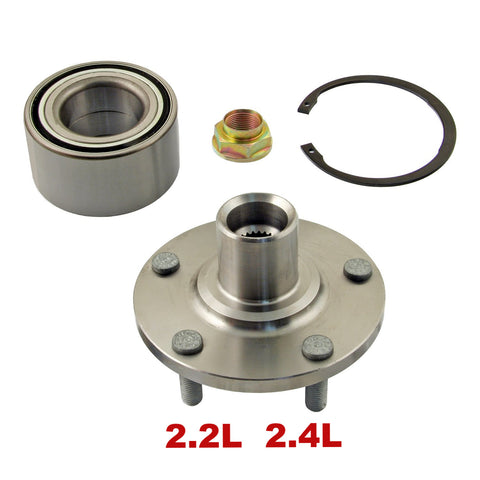 Hub Bearing - Front Wheel Hub Repair Kit 2.2L 2.4L (518508)