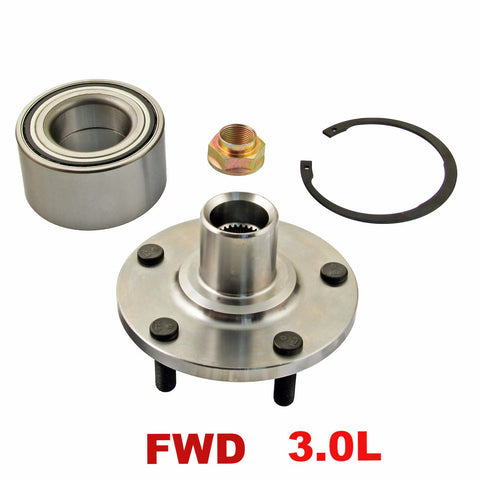 Hub Bearing - Front Wheel Hub Repair Kit FWD 3.0L (518509)