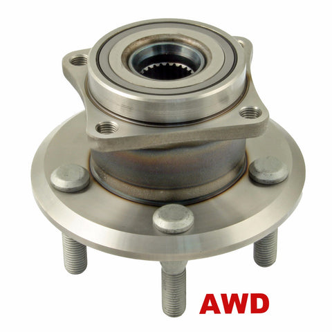 Hub Bearing - Rear Hub Bearing AWD (512512)