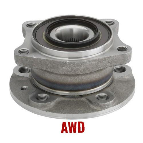 Hub Bearing - Rear Hub Bearing With-ABS Sensor  AWD (512273)