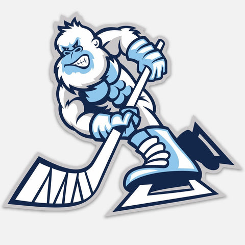 Yeti Hockey Sticker