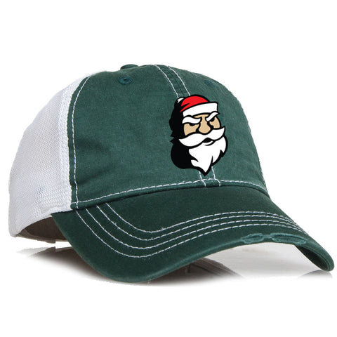 Nicks hat Green Crusher