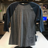 Ursa Major 3/4 Sleeve Ladies T-Shirt in Gray Frost and Navy