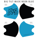 AkS Big Tilt Dual Layer Mask - Blue