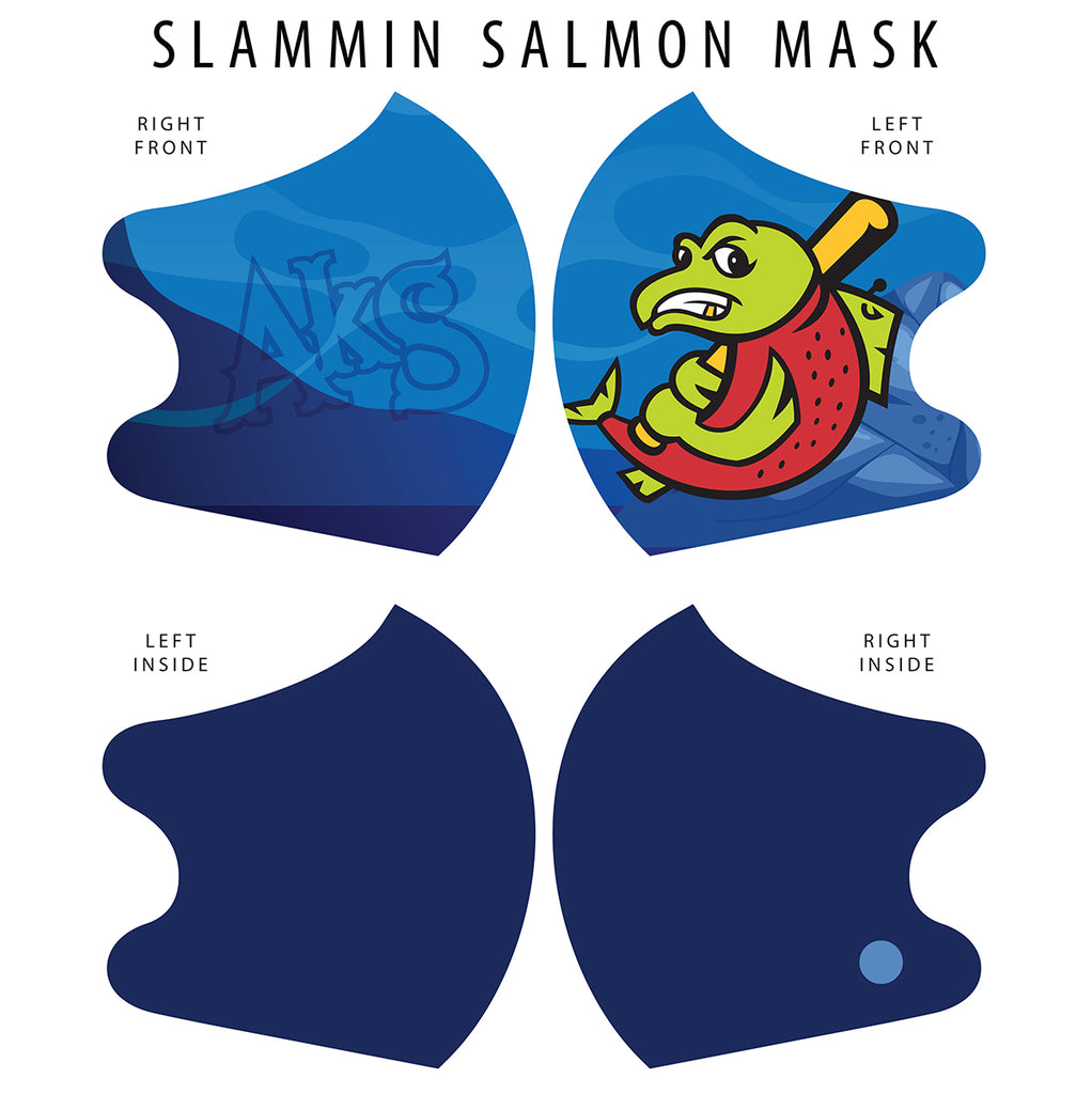 Slammin Salmon Dual Layer Mask