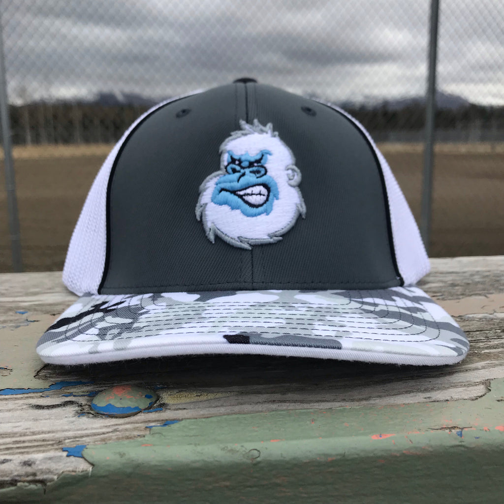 Yeti Trucker Hat in Arctic Glamo & Graphite & White