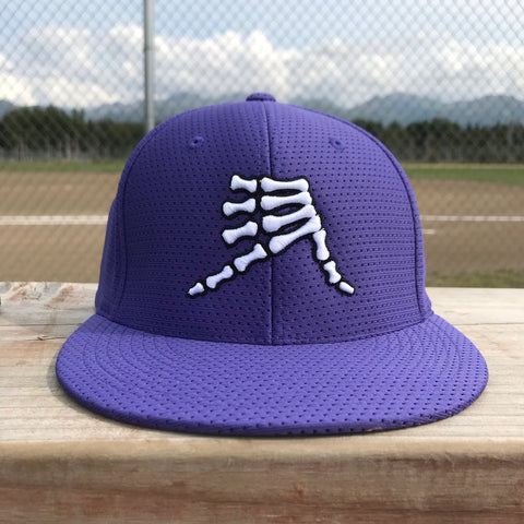 AkS Bones Jersey Hat in Purple
