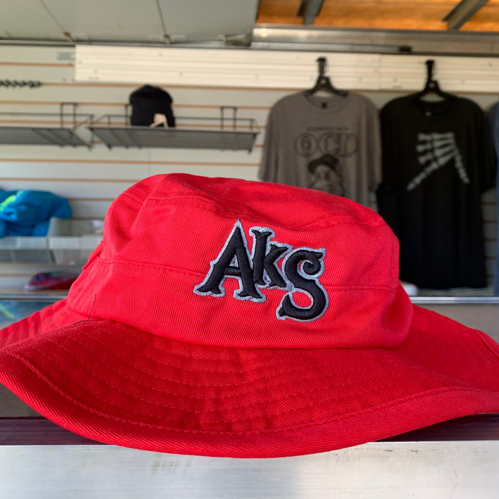 AkS Original Boonie hat in Red