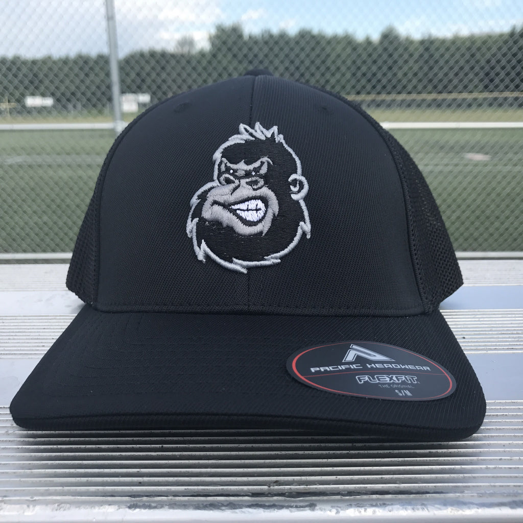 Silverback Trucker Hat in Black