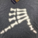 AkS Bones Youth T-Shirt in Navy Frost