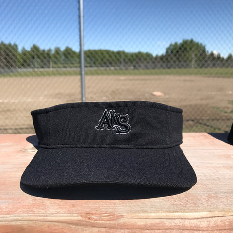 AkS Visor in Black with Charcoal