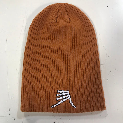 AkS Bones Beanie Slouchy in Copper
