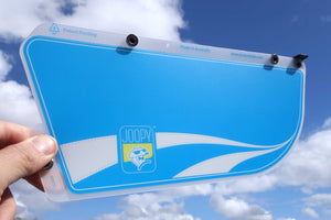 Driver's Window Sun Shade - Azure