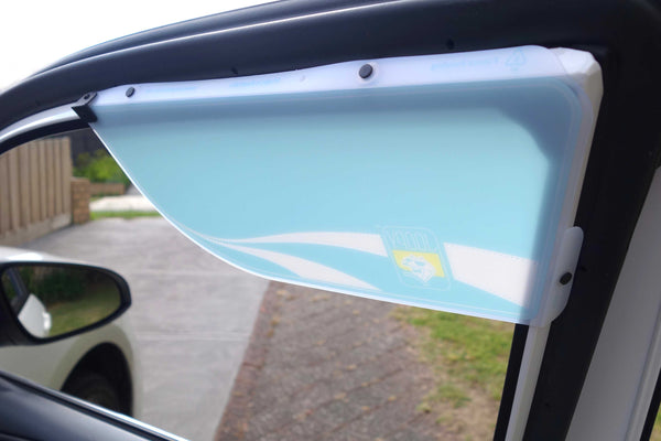 Driver's Window Sun Shade - Sea Spray