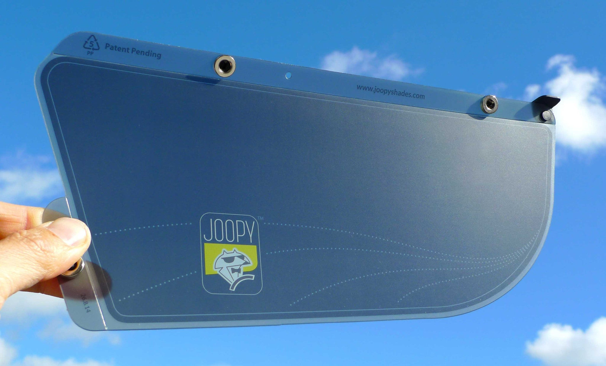 Driver's Window Sun Shade - Slate