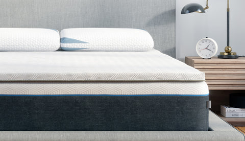 Pro Mattress Topper on Bed