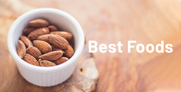 Best Foods for better sleep - Almonds