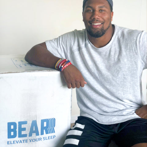 Bradley Chubb Bear Mattress Box