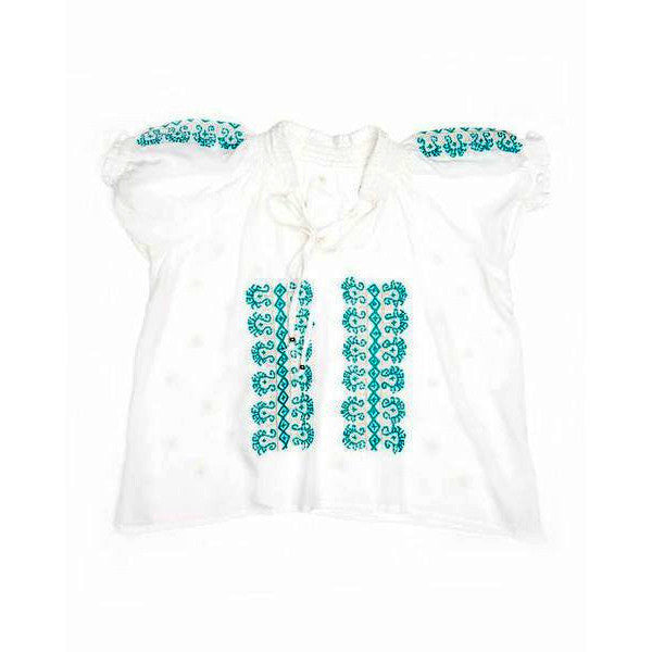 Sugar plum <br>embroidered top