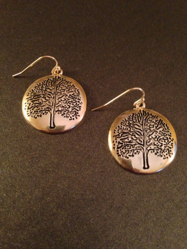 Tree of Life Dangle Earring
