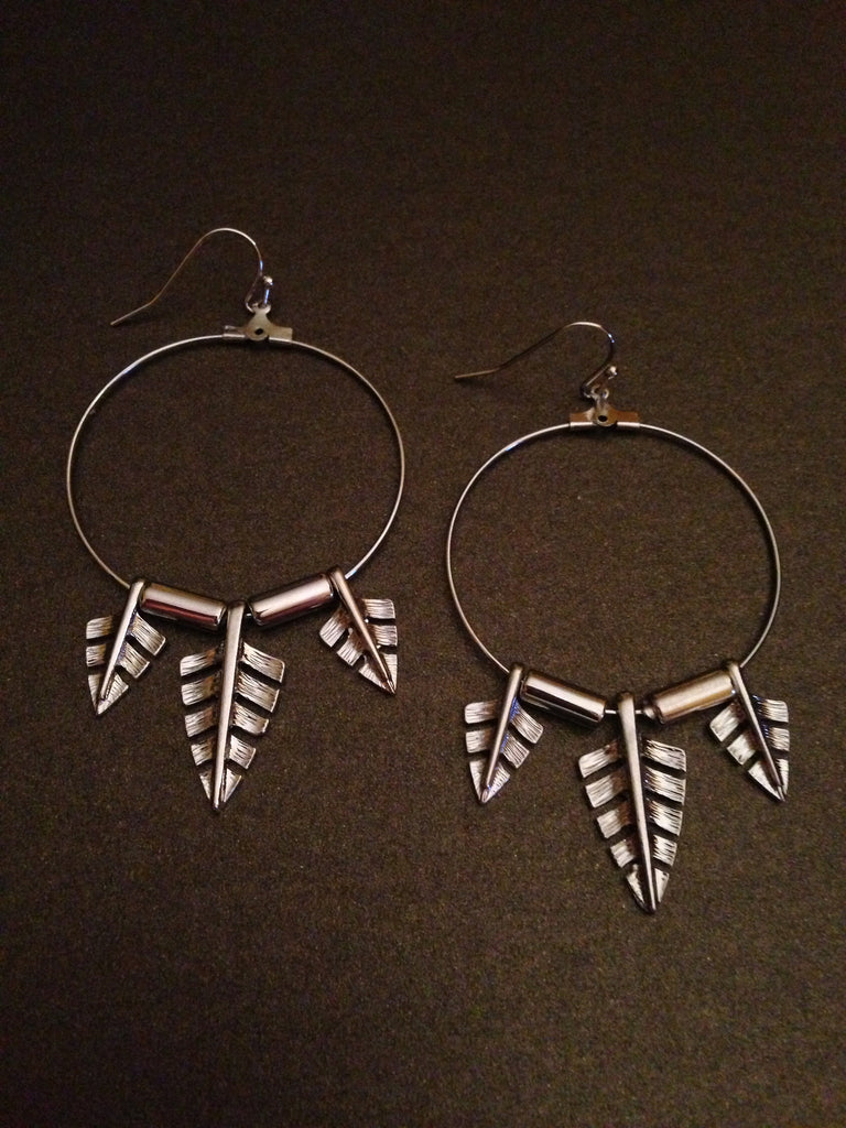 Arrowhead Spear Earring