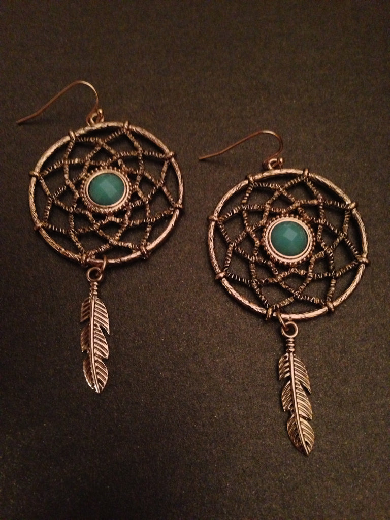 Dream Catcher Dangle Earring