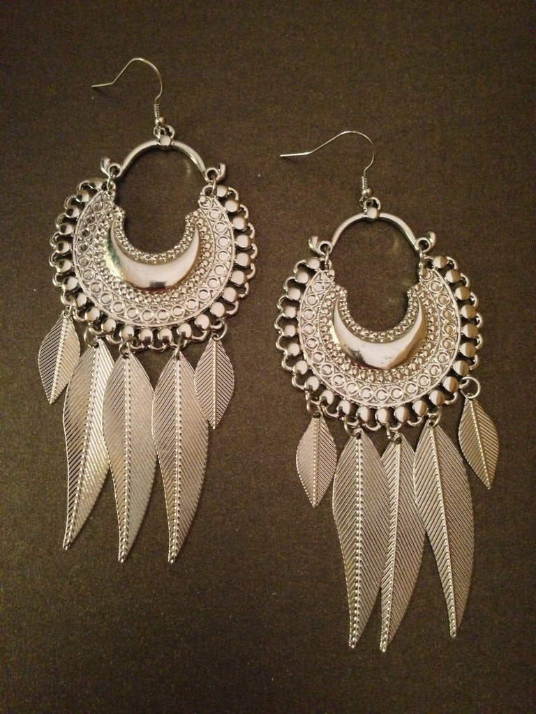 Bohemian Feather Earrings