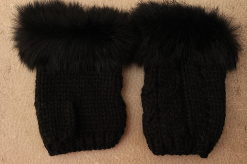 Fergie Fur Lined Gloves