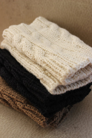 Tiffani Hand Muffs (Cocoa)