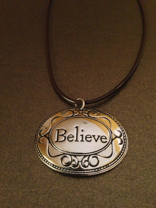 "Just ""Believe"" Necklace"