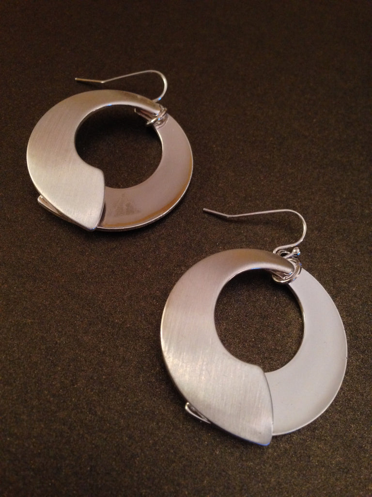 Layered Semi Circle Earrings