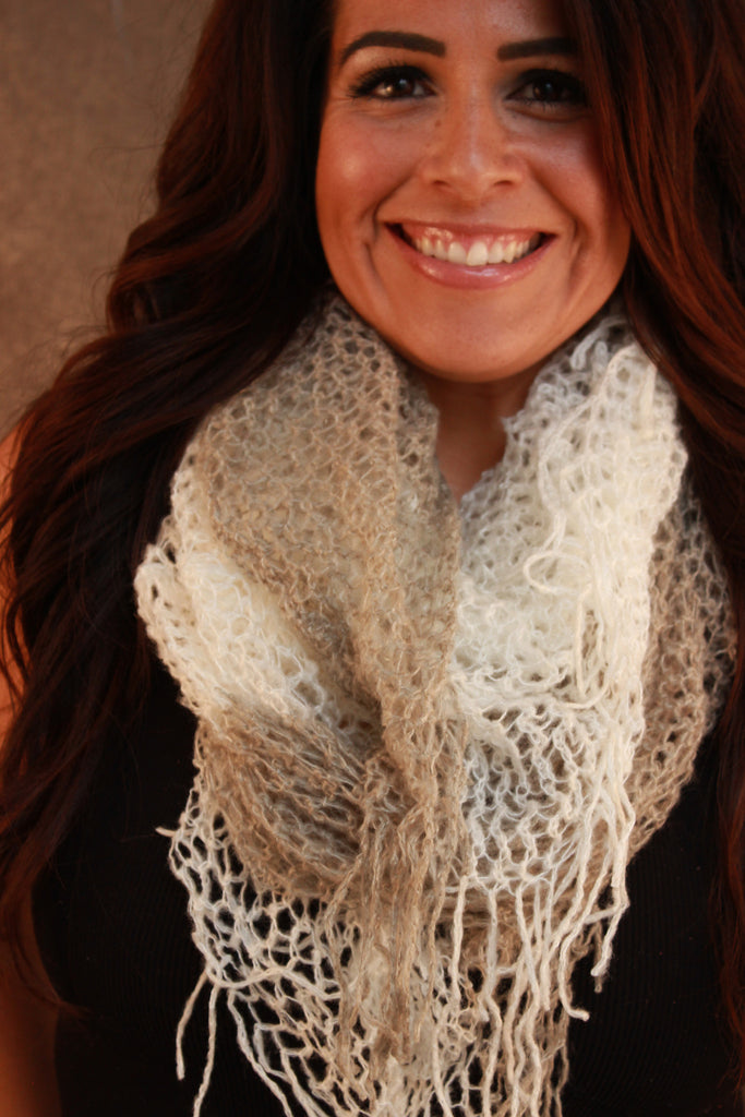 Loren Knitted Cozy Scarf