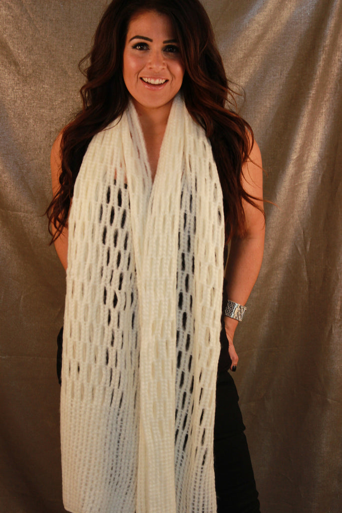 Sophia Long and Cozy Scarf