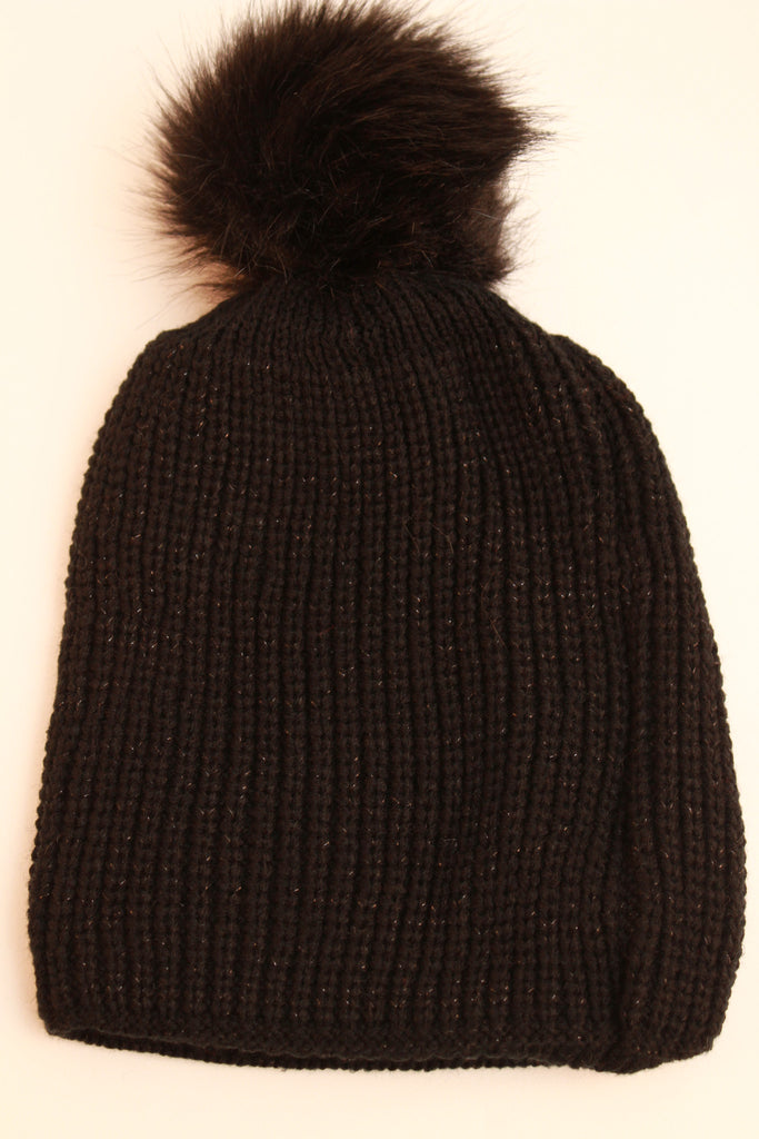 Poppy Thick Knitted Beanie