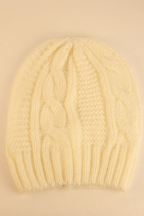 Hampton Beanie (Winter White)