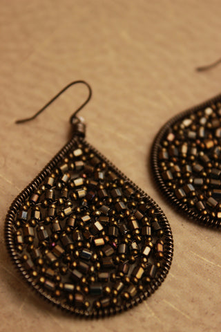 Czech Crystal Wire Earring
