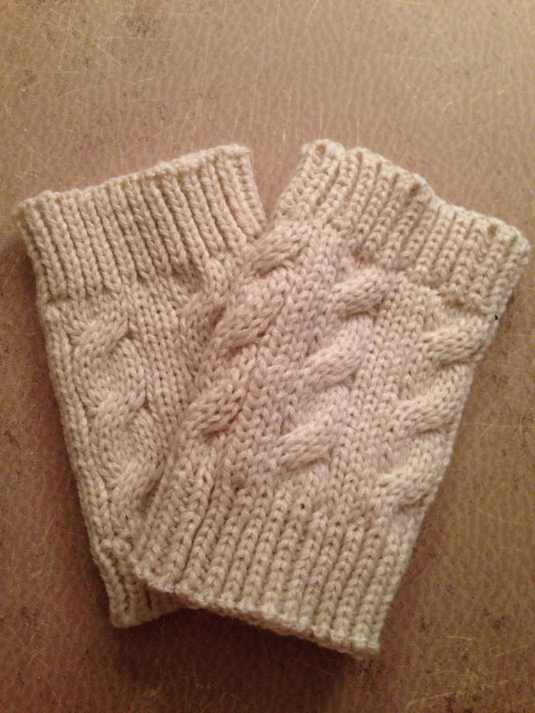 Tiffani Hand Muffs (Oatmeal)