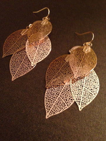 Four Leaf Dangle Earrings
