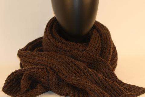 Boston Large Cable Scarf