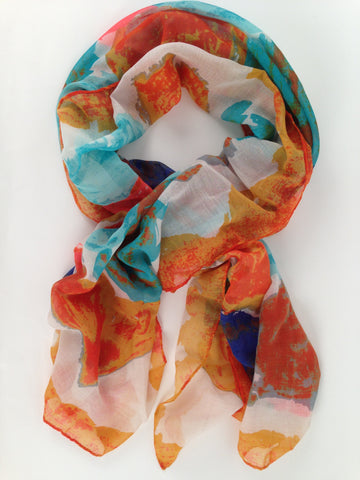 Bermuda Multi-Color Scarf